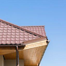 Přesahy střechy